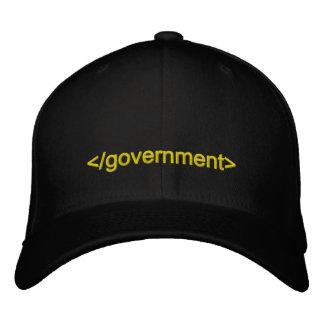 Regierungs-Enden-Umbau Bestickte Baseballkappe
