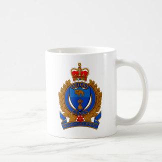 Regina-Polizeidienst-Wappen Kaffeetasse