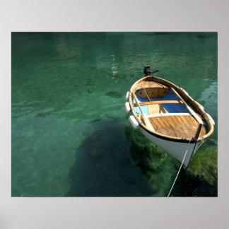Region Europas Italien Ligurien Cinque Terre 3 Plakat