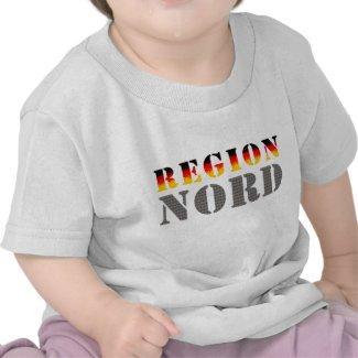 Region Nord - Norddeutschland | Baby-T-Shirt (weiß)