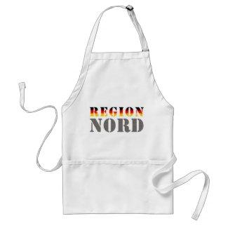 Region Nord - Norddeutschland | Standard Schürze (weiß)