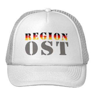 Region Ost - Ostdeutschland  | Baseballkappe | weiß