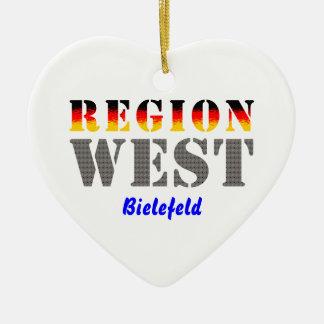 Region West - Bielefeld Keramik Ornament
