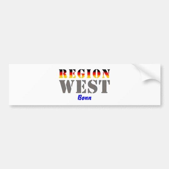 Region West - Bonn Autoaufkleber