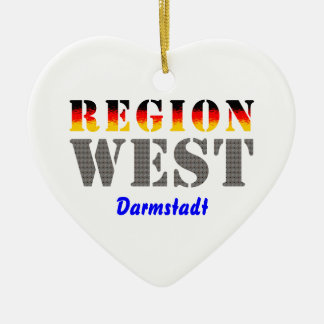 Region West - Darmstadt Keramik Ornament