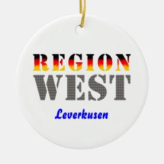 Region West - Leverkusen Keramik Ornament