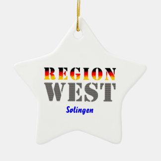 Region West - Solingen Keramik Ornament