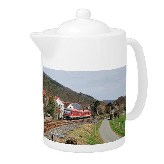 Regionalbahn nach Marburg in Buchenau