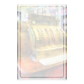 Registrierkasse in der Apotheke Briefpapier