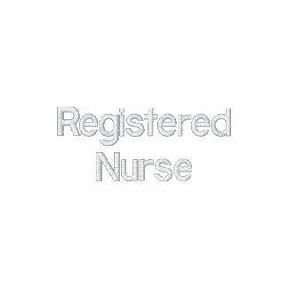 Registrierte Krankenschwester - RN auf links Hülse