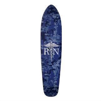 Registrierte Krankenschwester RNCaduceus auf 20,1 Cm Skateboard Deck