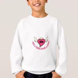 Registrierte Krankenschwester-Touch Sweatshirt