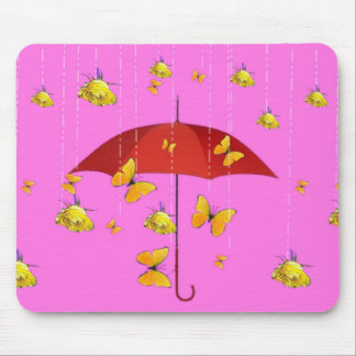 Regnen der gelben Rosen u. der Mousepad