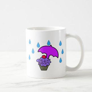 Regnen Sie nicht auf meinem kleinen Kuchen Kaffeetasse