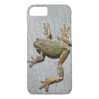 Regnerischer Tagesbaum-Frosch auf Glas iPhone 8/7 Hülle