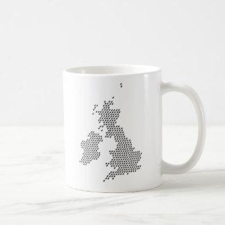 regnerisches Vereinigtes Königreich Kaffeetasse