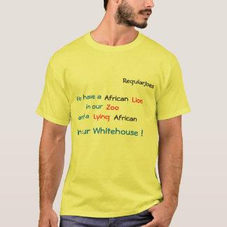 RegularJoes, haben wir a, Afrikaner, Löwe, in T-Shirt