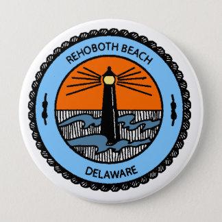 Rehoboth Strand Runder Button 10,2 Cm