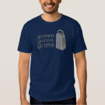 Reiben, die gehen, T-Shirt zu zerreiben