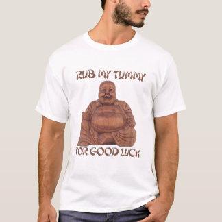 REIBEN Sie MEINEN BAUCH FÜR VIEL GLÜCK T - Shirt
