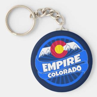 Reich-Colorado-Flaggenexplosion keychain Schlüsselanhänger