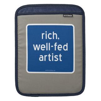 reich, Künstler gut-gefüttert Sleeve Für iPads