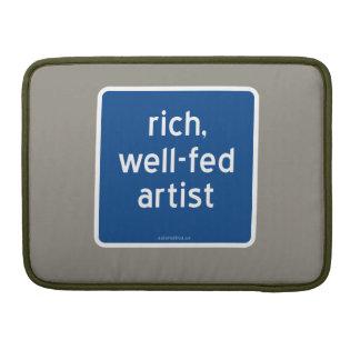 reich, Künstler gut-gefüttert Sleeve Für MacBook Pro
