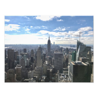 Reich-Staats-Foto-Druck New York Manhattan Fotodruck