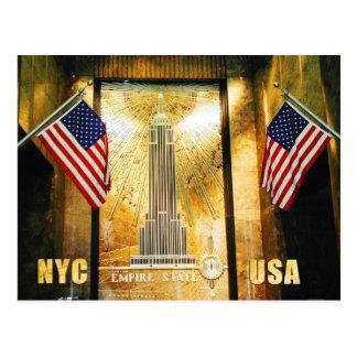 Reich-Staats-Gebäude, New York City Postkarte