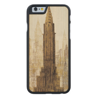 Reich-Staats-Gebäude NYC Carved® iPhone 6 Hülle Ahorn