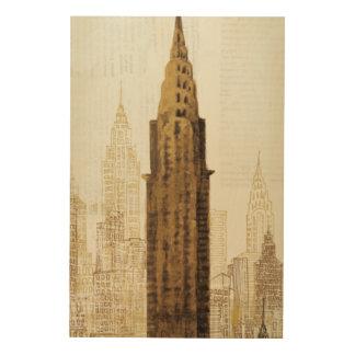 Reich-Staats-Gebäude NYC Holzwanddeko