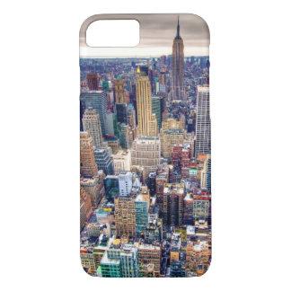 Reich-Staats-Gebäude und Midtown Manhattan iPhone 8/7 Hülle
