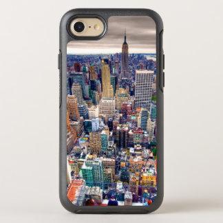 Reich-Staats-Gebäude und Midtown Manhattan OtterBox Symmetry iPhone 8/7 Hülle