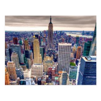 Reich-Staats-Gebäude und Midtown Manhattan Postkarte