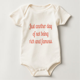 Reich und berühmt baby strampler