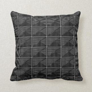 Reich-und-Luxuriöse Schwarz-weiße Dekor-Weiche Kissen