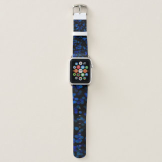 Reiches mutiges blauer Mond-Apple-Uhrenarmband Apple Watch Armband