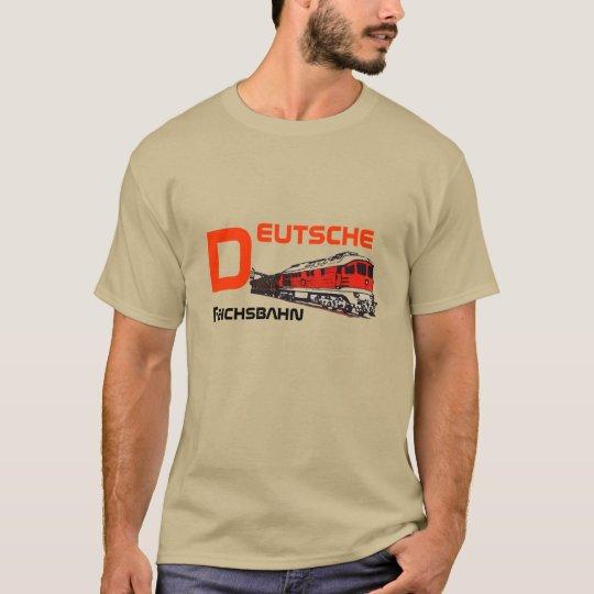 Reichsbahn Design DDR T-Shirt
