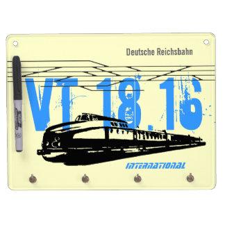 Reichsbahn Inernational DDR Trockenlöschtafel Mit Schlüsselanhängern
