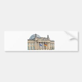 Reichstag Gebäude in Berlin, Deutschland Autoaufkleber