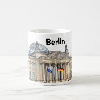 Reichstag Gebäude in Berlin, Deutschland Kaffeetasse