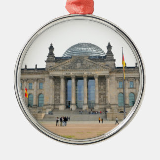 Reichstag Gebäude in Berlin, Deutschland Silbernes Ornament