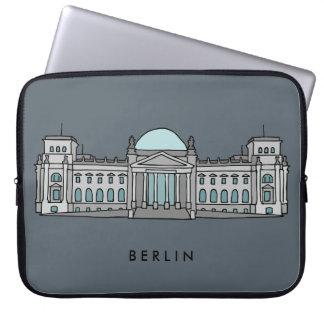 Reichstag Gebäude in Berlin Laptopschutzhülle