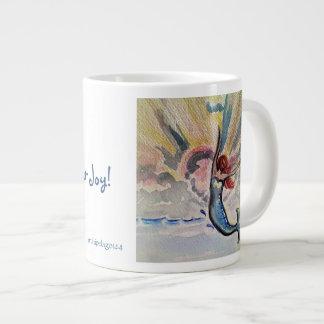 Reichweite für Ihre Freude-Tasse Jumbo-Tasse