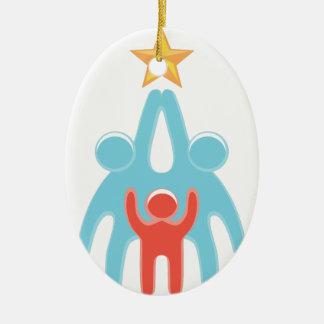 Reichweite für Ihre Träume Ovales Keramik Ornament
