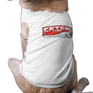 Reichweite! Haustier-Sorgfalt - HundeT - Shirt mit