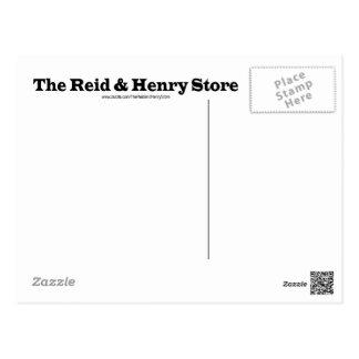 Reid u. die Henry-Speicher-Postkarte Postkarte