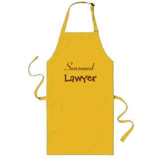 Reife Rechtsanwalt-Geschenk-Idee - lustiger Lange Schürze