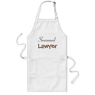 Reife Rechtsanwalt-Ruhestands-Geschenk-Idee - Lange Schürze
