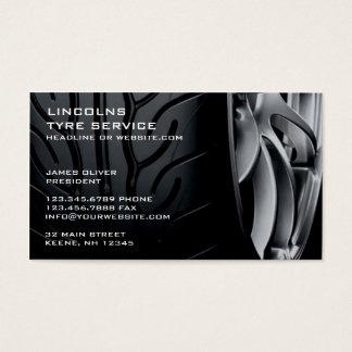 Reifen-Auto-Reparatur-Geschäfts-Karte Visitenkarten